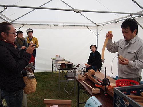 2013年は木曽奈良井宿の曲物